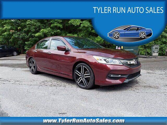2016 Honda Accord for sale at Tyler Run Auto Sales in York PA
