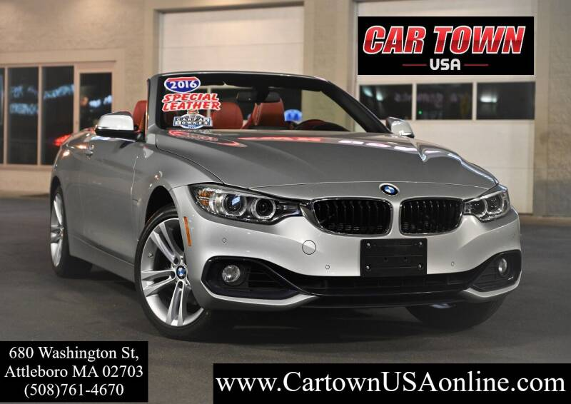 2016 BMW 4 Series for sale at Car Town USA in Attleboro MA