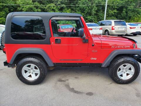 2006 Jeep Wrangler for sale at DISCOUNT AUTO SALES in Johnson City TN