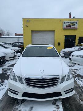 2013 Mercedes-Benz E-Class for sale at Hartford Auto Center in Hartford CT