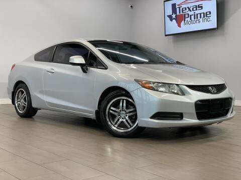 2012 Honda Civic for sale at Texas Prime Motors in Houston TX