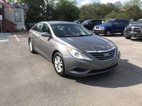 2012 Hyundai Sonata for sale at Auto Solution in San Antonio TX