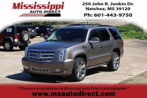 2014 Cadillac Escalade for sale at Auto Group South - Mississippi Auto Direct in Natchez MS