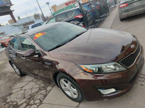 2014 Kia Optima for sale at Sanaa Auto Sales LLC in Denver CO