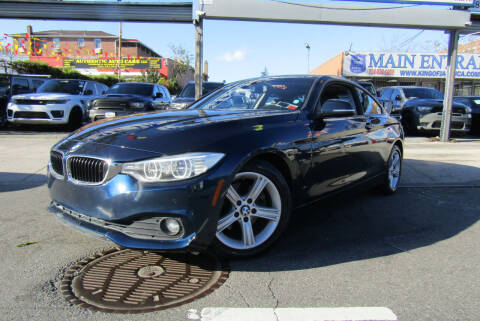 2014 BMW 4 Series for sale at MIKEY AUTO INC in Hollis NY