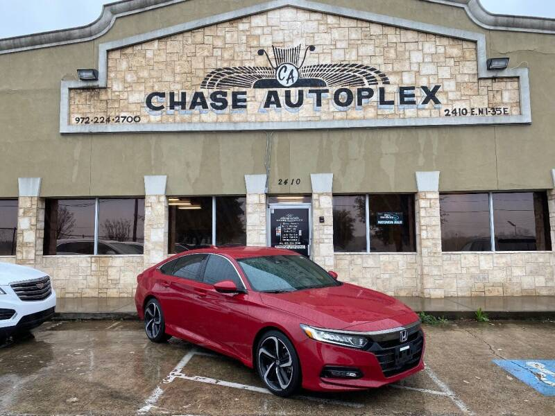 2018 Honda Accord for sale at CHASE AUTOPLEX in Lancaster TX