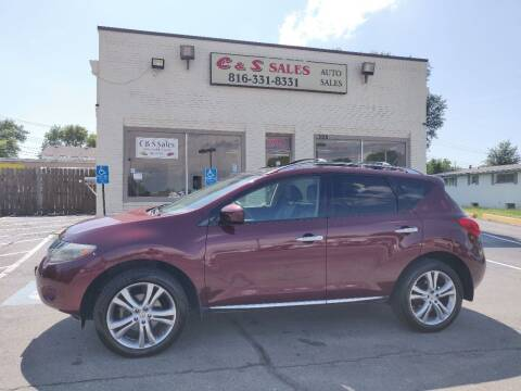 2010 Nissan Murano for sale at C & S SALES in Belton MO