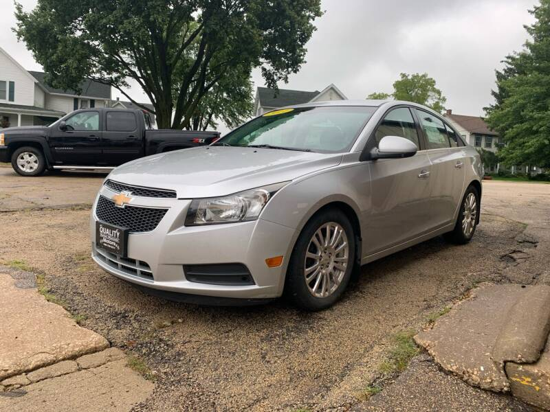 2011 Chevrolet Cruze for sale at QUALITY MOTORS in Benton WI