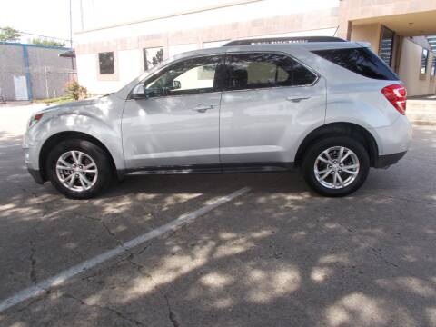 2017 Chevrolet Equinox for sale at ACH AutoHaus in Dallas TX