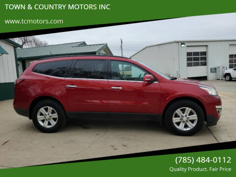 2013 Chevrolet Traverse for sale at TOWN & COUNTRY MOTORS INC in Meriden KS