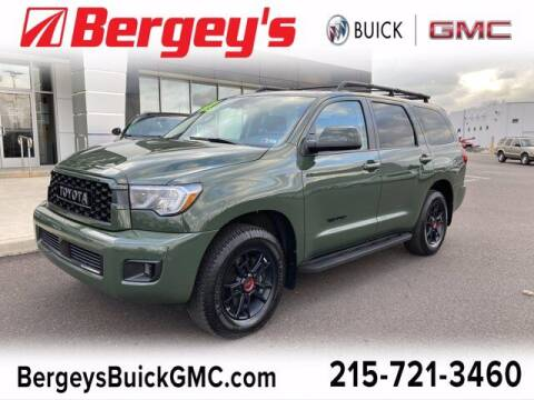 2020 Toyota Sequoia for sale at Bergey's Buick GMC in Souderton PA