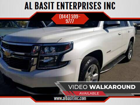 2016 Chevrolet Tahoe for sale at AL BASIT ENTERPRISES INC in Riverside CA