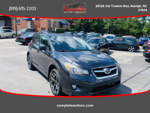 2013 Subaru XV Crosstrek for sale at Complete Auto Center , Inc in Raleigh NC