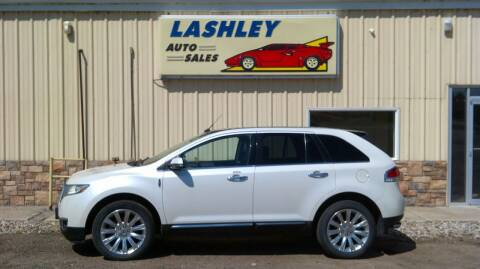 2013 Lincoln MKX for sale at Lashley Auto Sales in Mitchell NE