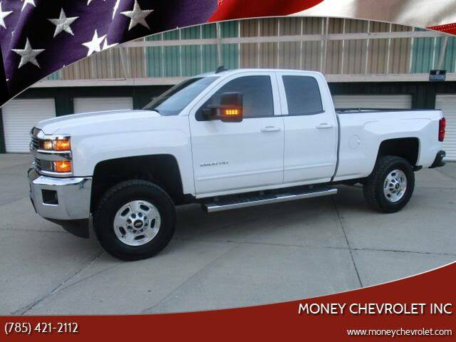 2015 Chevrolet Silverado 2500HD for sale at Money Trucks Inc in Hill City KS