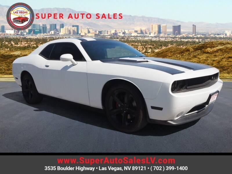 2014 Dodge Challenger for sale at Super Auto Sales in Las Vegas NV