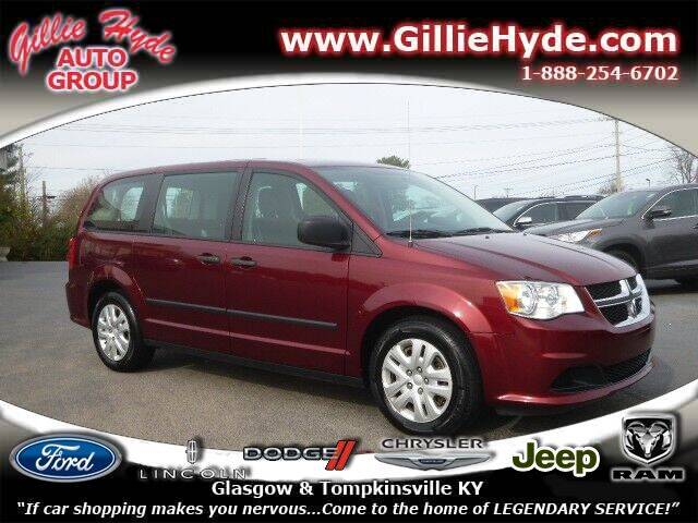 2016 Dodge Grand Caravan for sale at Gillie Hyde Auto Group in Glasgow KY