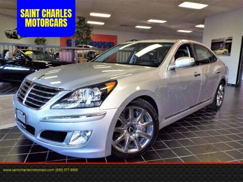 2013 Hyundai Equus for sale at SAINT CHARLES MOTORCARS in Saint Charles IL