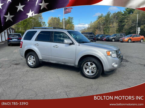 2009 Ford Escape for sale at BOLTON MOTORS INC in Bolton CT