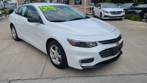 2017 Chevrolet Malibu for sale at Dunn-Rite Auto Group in Longwood FL