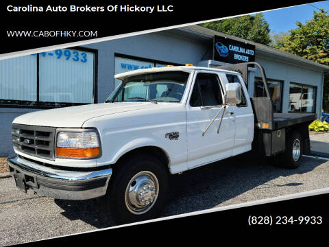 1997 Ford F-350 for sale at Carolina Auto Brokers of Hickory LLC in Newton NC
