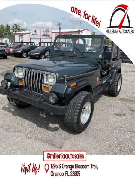 1994 Jeep Wrangler for sale at Millenia Auto Sales in Orlando FL