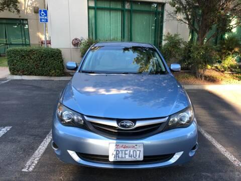 2011 Subaru Impreza for sale at Hi5 Auto in Fremont CA