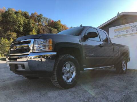 2012 Chevrolet Silverado 1500 for sale at Creekside PreOwned Motors LLC in Morgantown WV