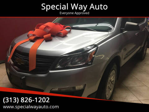 2013 Chevrolet Traverse for sale at Special Way Auto in Hamtramck MI