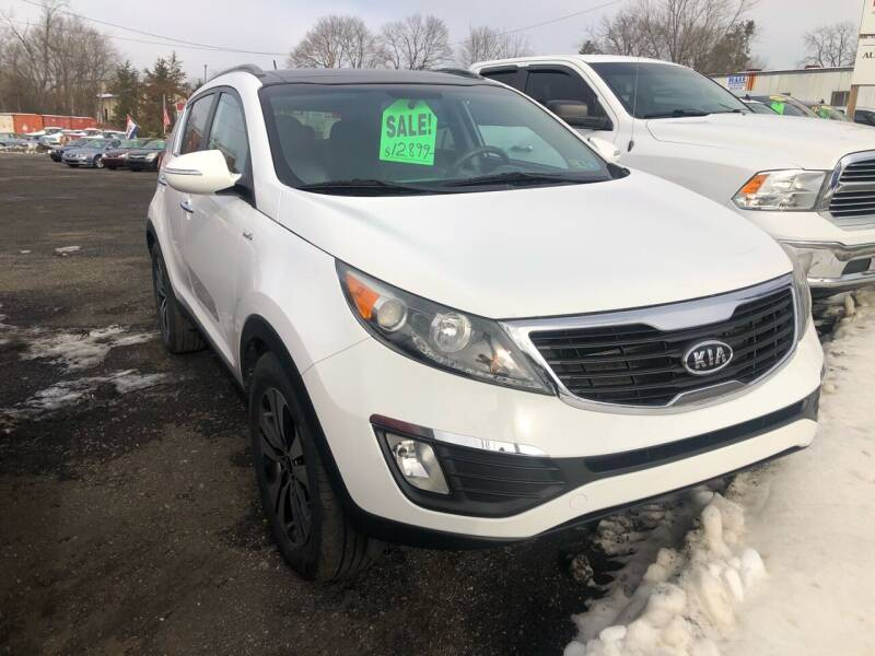 2011 Kia Sportage for sale at Mayer Motors of Pennsburg in Pennsburg PA