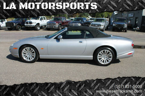 2005 Jaguar XK-Series for sale at LA MOTORSPORTS in Windom MN