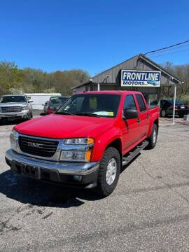 2005 GMC Canyon for sale at Frontline Motors Inc in Chicopee MA