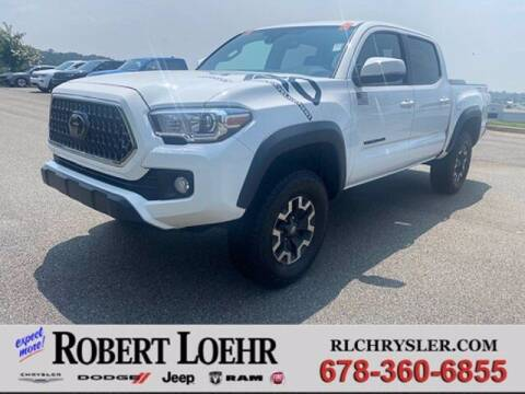2018 Toyota Tacoma for sale at Robert Loehr Chrysler Dodge Jeep Ram in Cartersville GA