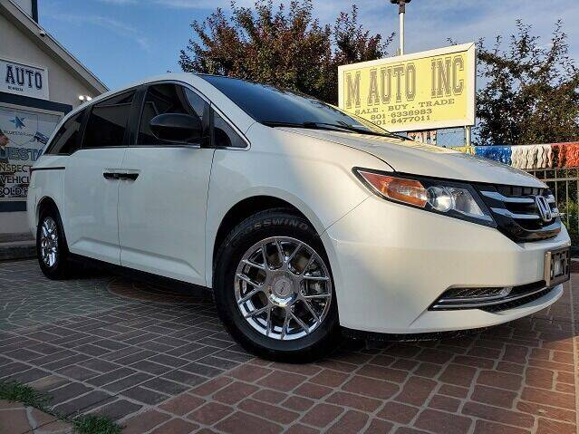 2014 Honda Odyssey for sale at M AUTO, INC in Millcreek UT