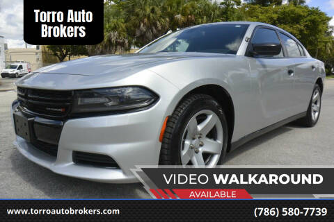 2016 Dodge Charger for sale at Torro Auto Brokers in Miami FL