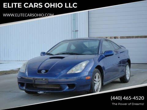 2001 Toyota Celica for sale at ELITE CARS OHIO LLC in Solon OH