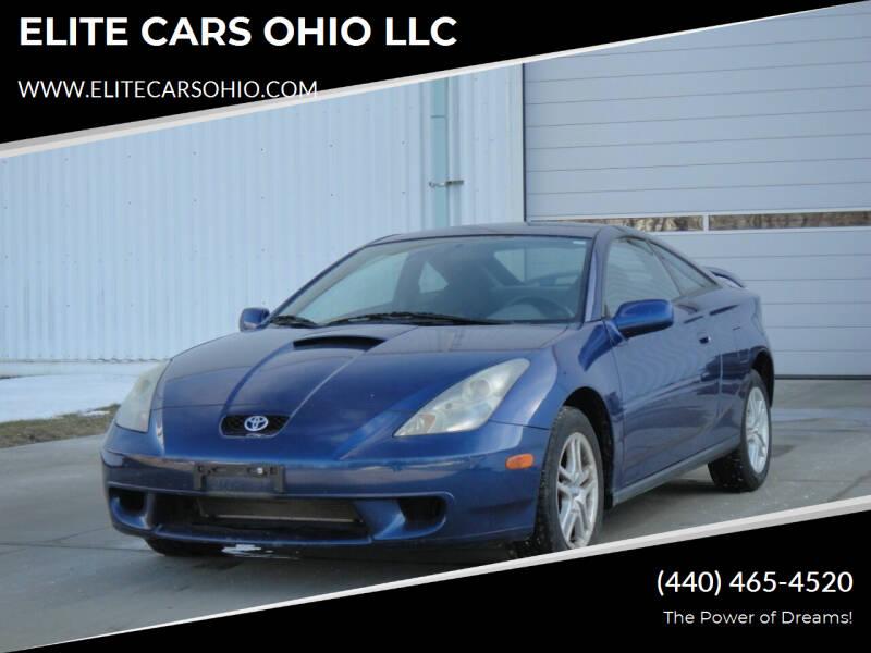 2001 Toyota Celica for sale at ELITE CARS OHIO LLC in Solon OH