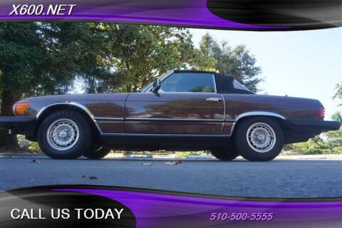 1980 Mercedes-Benz 450-Class for sale at The Dealer in Fremont CA