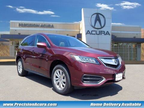 2018 Acura RDX for sale at Precision Acura of Princeton in Lawrence Township NJ