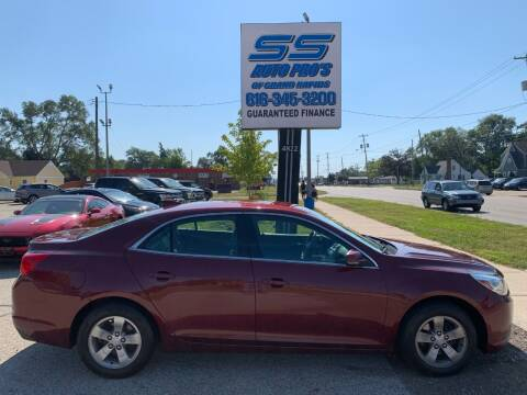 2016 Chevrolet Malibu Limited for sale at SS Auto Pro of Grand Rapids in Kentwood MI