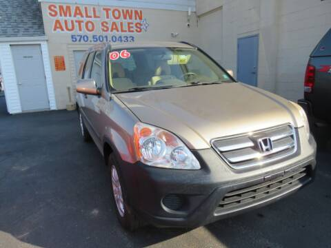 2006 Honda CR-V for sale at Small Town Auto Sales in Hazleton PA