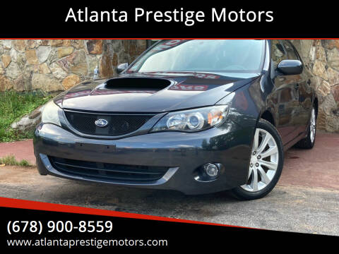 2008 Subaru Impreza for sale at Atlanta Prestige Motors in Decatur GA