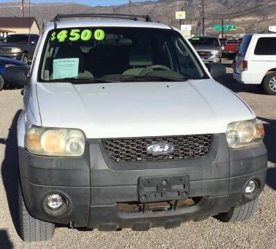 2005 Ford Escape for sale at The Auto Shop in Alamogordo NM