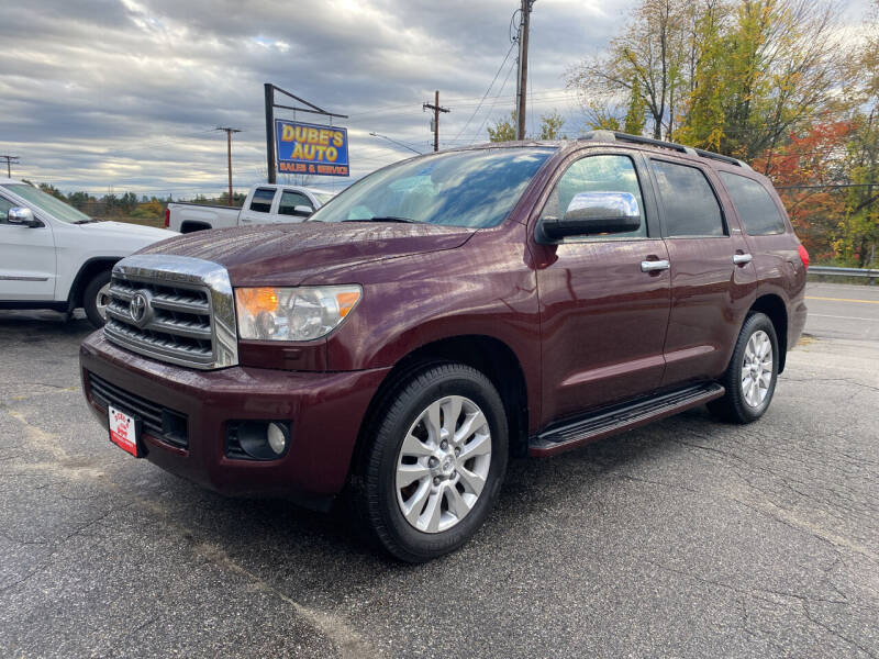 2010 Toyota Sequoia for sale at Dubes Auto Sales in Lewiston ME