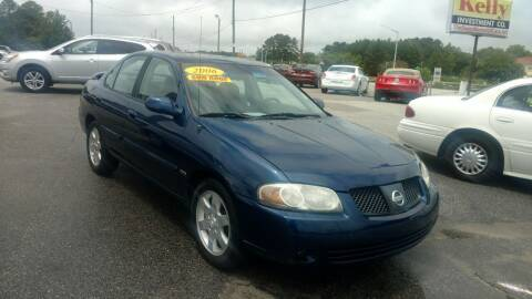 2006 Nissan Sentra for sale at Kelly & Kelly Supermarket of Cars in Fayetteville NC