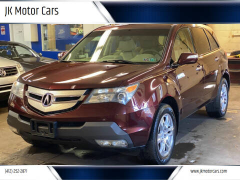 2009 Acura MDX for sale at JK Motor Cars in Pittsburgh PA