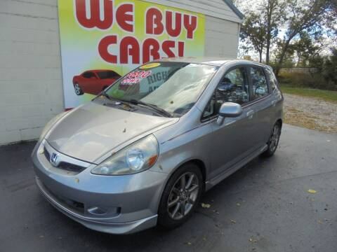 2007 Honda Fit for sale at Right Price Auto Sales in Murfreesboro TN