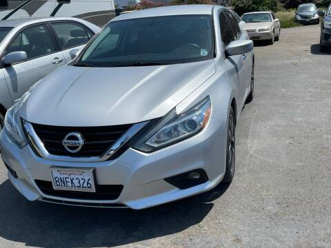 2018 Nissan Altima for sale at HARE CREEK AUTOMOTIVE in Fort Bragg CA