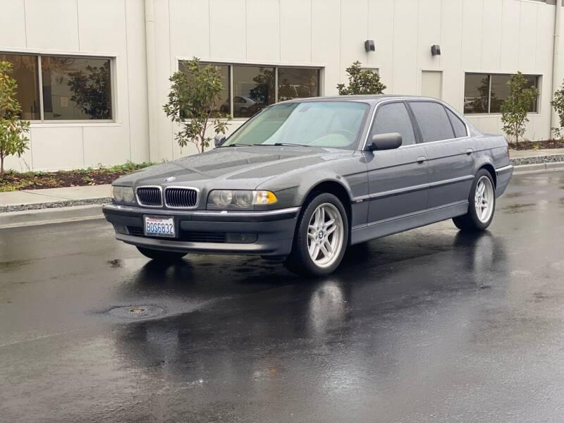 2001 BMW 7 Series for sale at Washington Auto Sales in Tacoma WA
