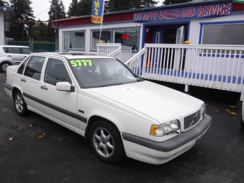 1996 Volvo 850 for sale at 777 Auto Sales and Service in Tacoma WA